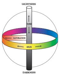 Fancy color identification and description