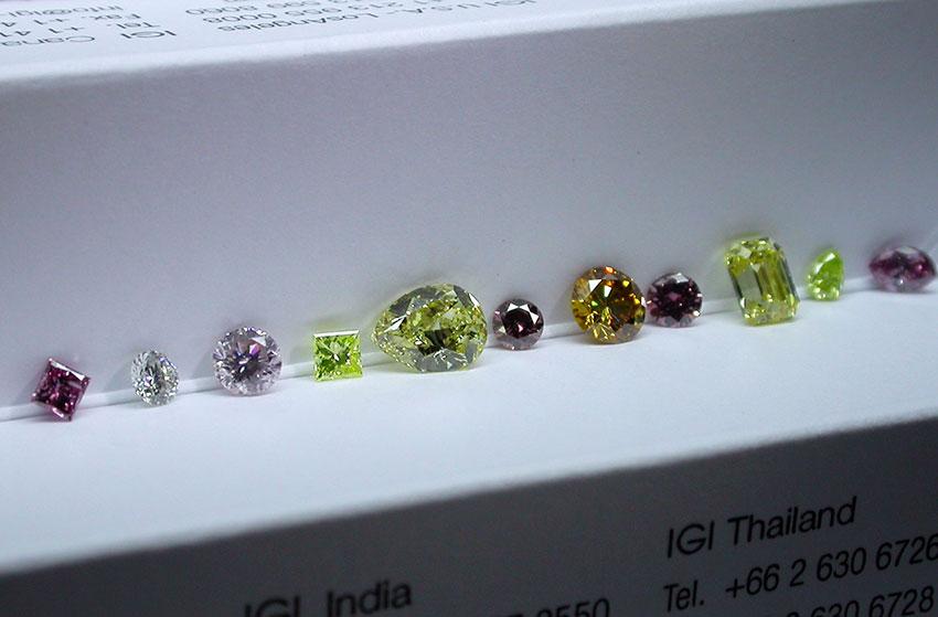Natural Fancy Colored Diamonds