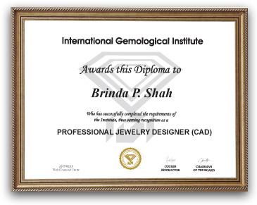 IGI Jewelry Cad Course