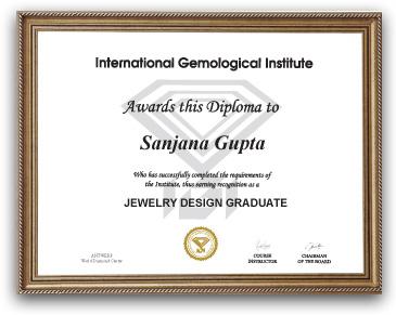 IGI Jewelry Design Course