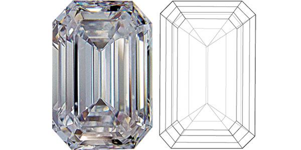 Emerald Diamond Shapes