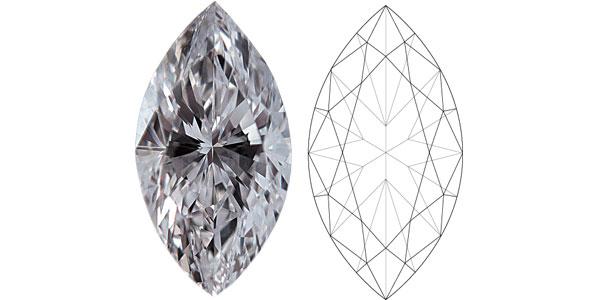 Marquise Diamond Shapes