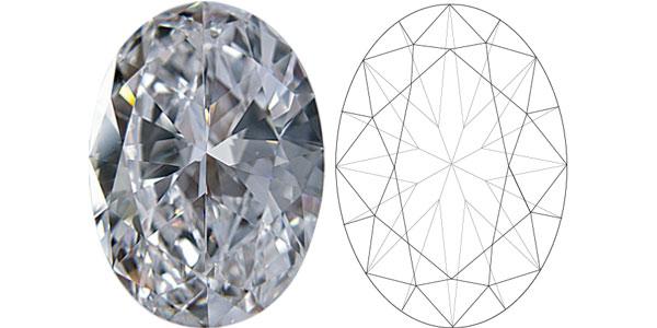 Oval Diamond Shapes